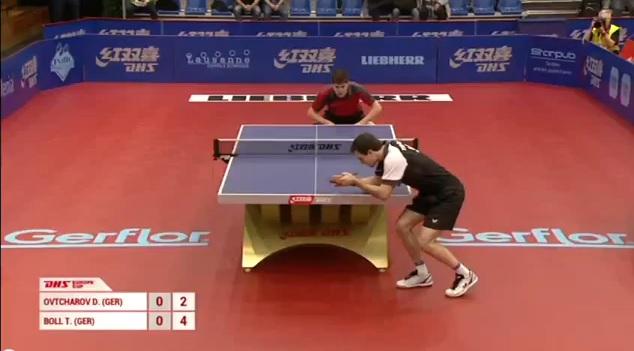 ドイツ両雄対決 卓球動画