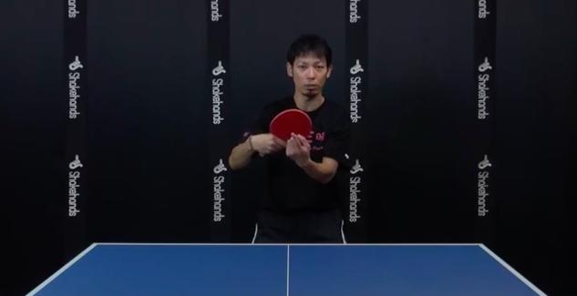 バックハンドの3種類の手首の使い方 ・卓球三昧 大村拓己コーチ