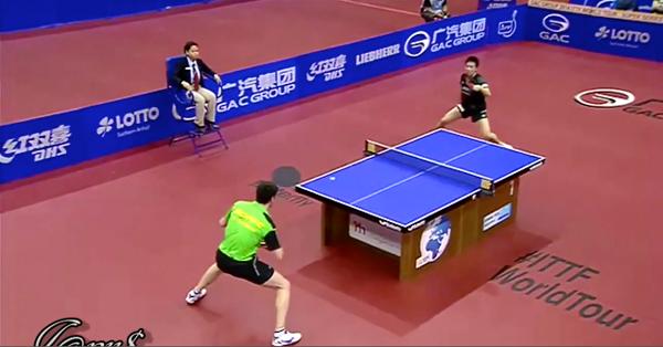 2014 German Open 水谷 VS オフチャロフ