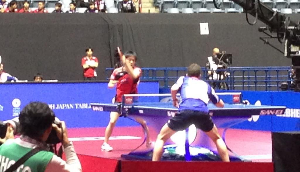 2014世界卓球 3日目男子結果