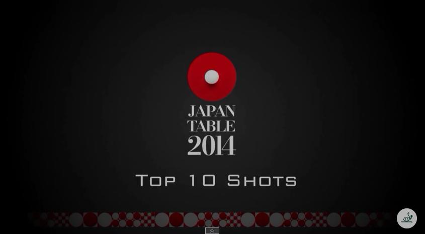2014世界卓球 スーパーラリー集 Top10 卓球動画