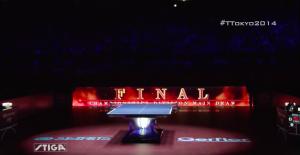 2014世界卓球 8日目 決勝 ハイライト動画