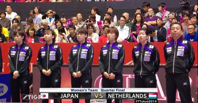 卓球世界選手権2014 東京大会を観戦して その1