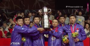 2014世界卓球 男子決勝結果