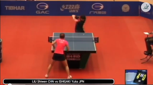 Kuwait Open 2014 Highlights: Liu Shiwen vs 石垣 優香 (1/4 Final) 卓球動画