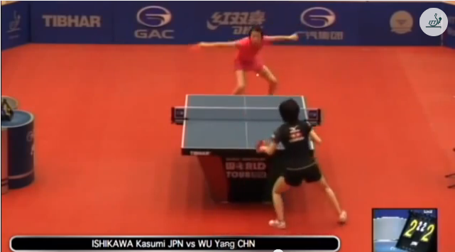 Kuwait Open 2014 Highlights: 石川佳純 vs Wu Yang (1/4 Final) 卓球動画