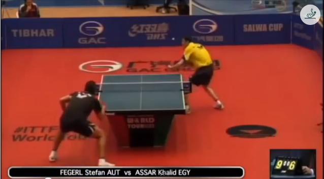 Kuwait Open 2014 Highlights: Stefan Fegerl vs Khalid Assar 卓球動画