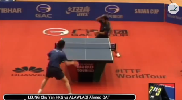 Kuwait Open 2014 Highlights: Leung Chu Yan vs Alawlaqi Ahmed 卓球動画