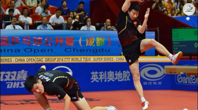 2014 中国オープン Top10 Shots 卓球動画
