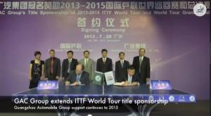 ITTF Monthly Pongcast - July 2013 卓球動画