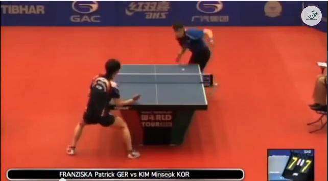 Kuwait Open 2014 Highlights: Patrick Franziska vs Kim Min Seok (1/4 Final) 卓球動画