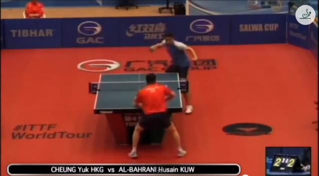 Kuwait Open 2014 Highlights: Cheung Yuk vs Al-Bahrani Husain 卓球動画