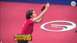 Kuwait Open 2014 Highlights: Zhu Yuling vs 石川佳純 (1/2 Final) 卓球動画
