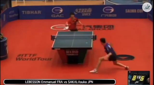 Kuwait Open 2014 Highlights: 酒井明日翔 vs Emmanuel Lebesson 卓球動画