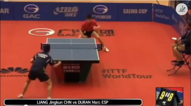 Kuwait Open 2014 Highlights: Liang Jingkun vs Marc Duran 卓球動画