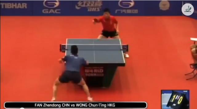 Kuwait Open 2014 Highlights: 樊振東 vs Wong Chun Ting (1/4 Final) 卓球動画