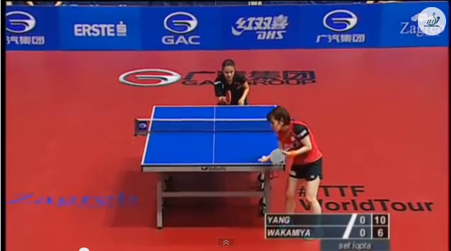 Croatia Open 2014 Highlights: Yang Xiaoxin Vs 若宮三紗子 (FINAL)
