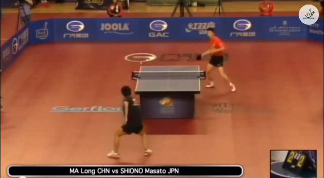 Qatar Open 2014 Highlights: 馬龍 vs Masato Shiono 卓球動画