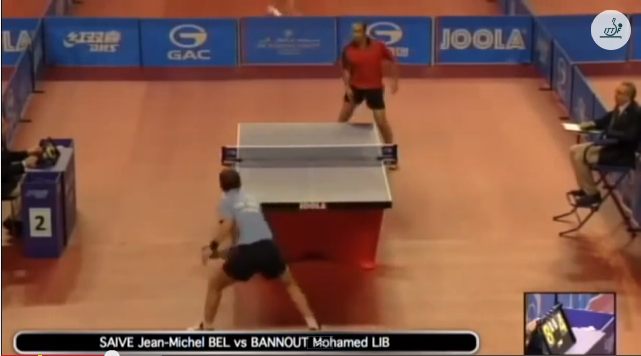 Qatar Open 2014 Highlights: Jean-Michel Saive vs Mohamed Bannout 卓球動画