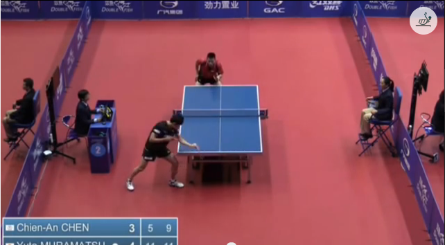 China Open 2014 Highlights: Chen Chien An Vs 村松雄斗 (Round Of 32) 卓球動画