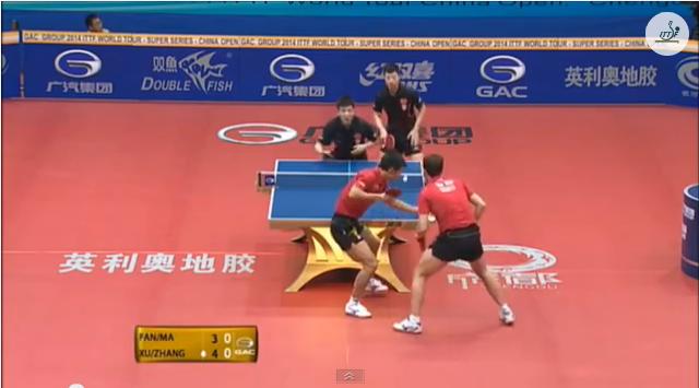 China Open 2014 Highlights: Ma Long/Fan Zhendong Vs Xu Xin/Zhang Jike (FINAL) 卓球動画