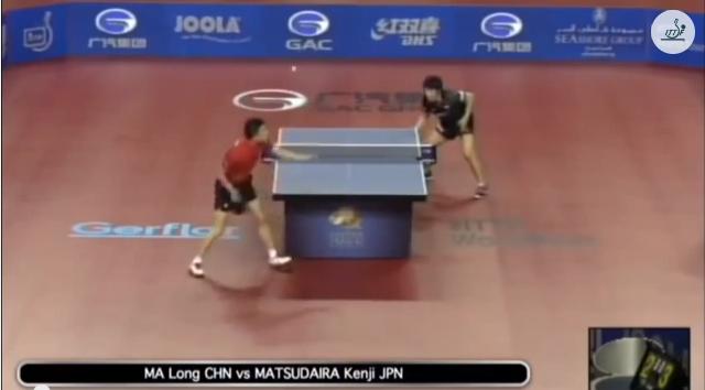 Qatar Open 2014 Highlights: 馬龍 vs 松平賢二 卓球動画