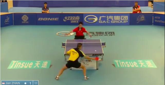 Philippines Open 2014 Highlights: Jian Zhan Vs Ho Kwan Kit (FINAL) 卓球動画