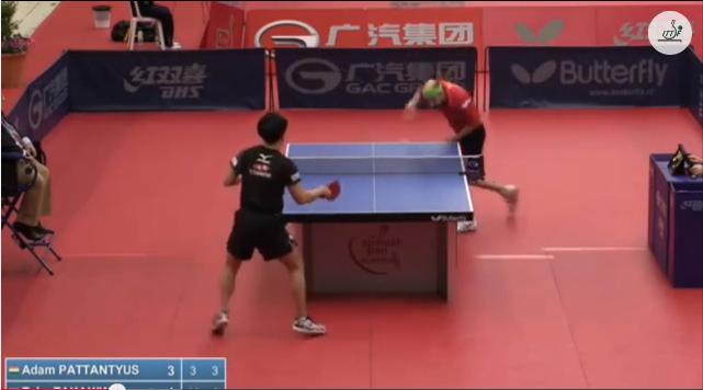 Spanish Open 2014 Highlights: Pattantyus Adam Vs 高木和卓 (Round Of 16) 卓球動画