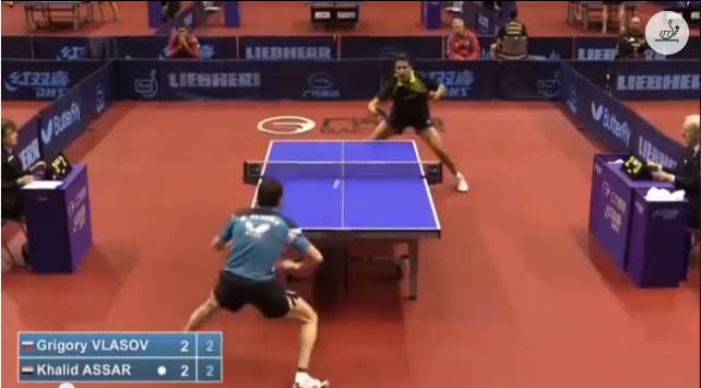 German Open 2014 Highlights: Vlasov Grigory vs Assar Khalid (Q.Group) 卓球動画