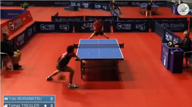 Croatia Open 2014 Highlights: 村松雄斗 Vs Tomas Tregler (Round Of 16) 卓球動画