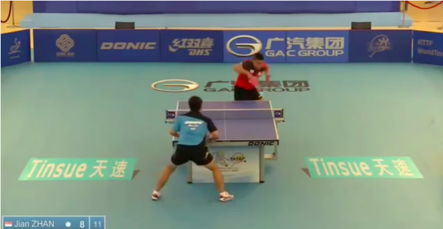 Philippine Open 2014 Highlights: Jian Zhan Vs Wu Zhikang 卓球動画