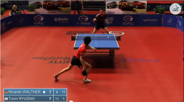 Croatia Open 2014 Highlights: 龍崎東寅 Vs Ricardo Walther (1/2 Final) 卓球動画