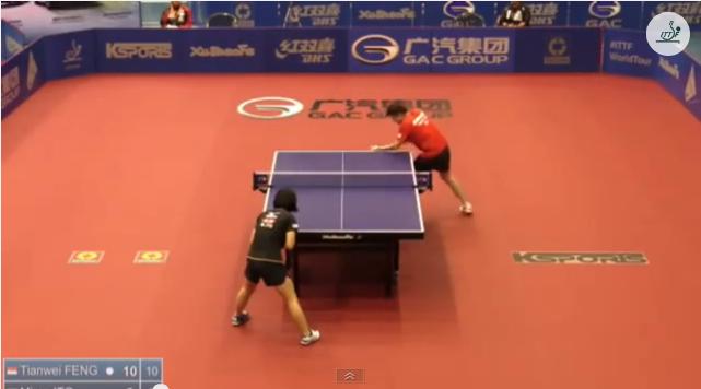 Australia Open 2014 Highlights: Feng Tianwei Vs 伊藤美誠 (Semifinal) 卓球動画
