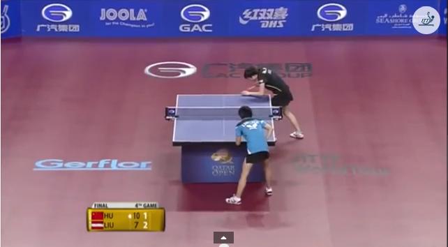 Qatar Open 2014 Highlights: Hu Limei vs Liu Jia (Final) 卓球動画