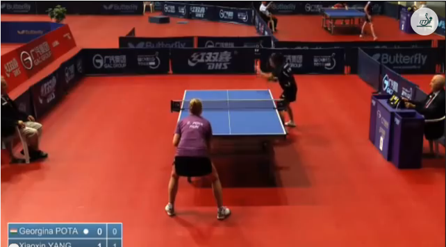 Croatia Open 2014 Highlights: Georgina Pota Vs Xiaoxin Yang (1/4 Final) 卓球動画