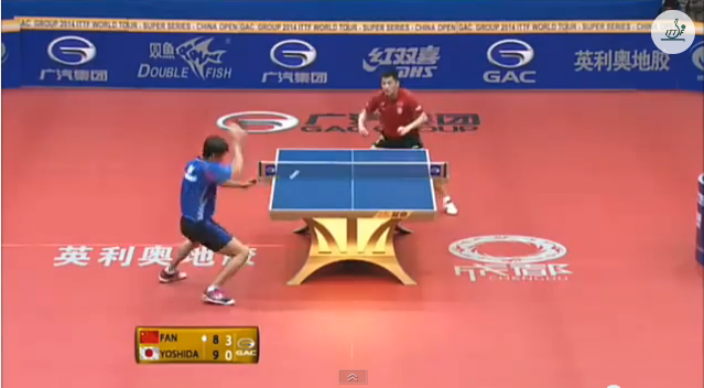 China Open 2014 Highlights: Fan Zhendong Vs 吉田海偉 (Round Of 16) 卓球動画