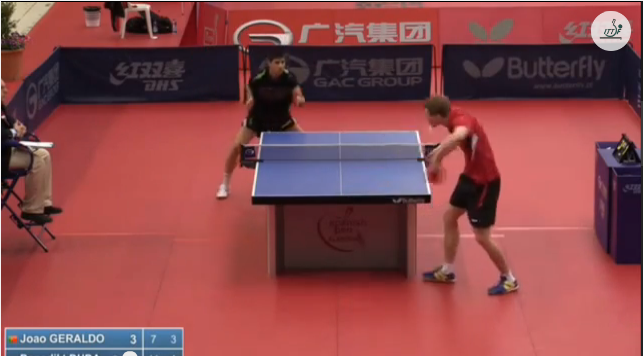 Spanish Open 2014 Highlights: Joao Geraldo Vs Benedikt Duda (U21 Quarter Final) 卓球動画
