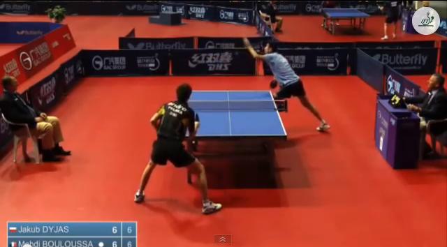 Croatia Open 2014 Highlights: Jakub Dyjas Vs Mehdi Bouloussa (Round 2) 卓球動画