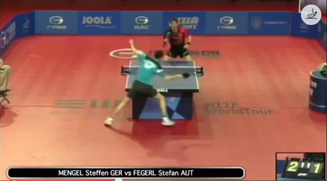 Hungarian Open 2014 Highlights: Steffen Mengel vs Stefan Fegerl (1/2 Final) 卓球動画