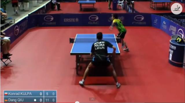 Croatia Open 2014 Highlights: Konrad Kulpa Vs Dan Qiu (U21 Round1) 卓球動画