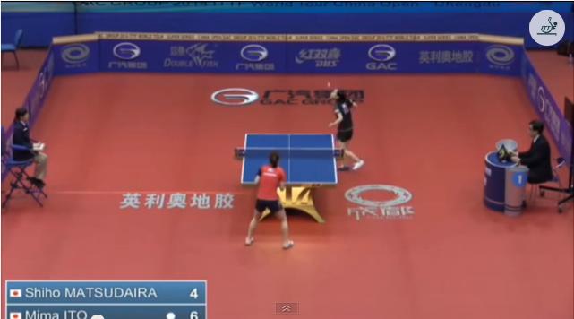 China Open 2014 Highlights: 松平志穂 Vs 伊藤美誠 (U21 1/4 Final) 卓球動画