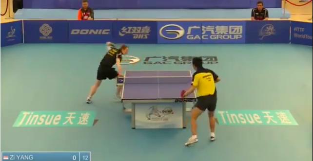 Philippine Open 2014 Highlights: Yang Zi Vs Cedric Nuytinck 卓球動画
