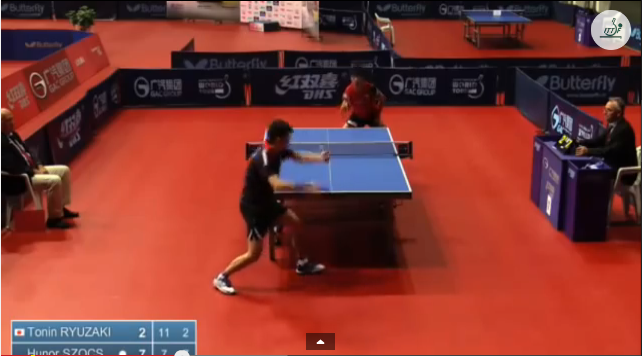 Croatia Open 2014 Highlights: 龍崎東寅 Vs Szocs Hunor (1/4 Final) 卓球動画