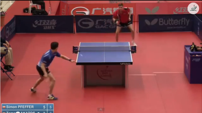 Spanish Open 2014 Highlights: Tamas Lakatos Vs Simon Pfeffer (U21 Round 1) 卓球動画