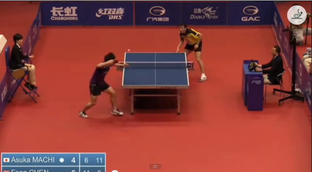 China Open 2014 Highlights: 町飛烏 Vs Chen Feng (U21 FINAL) 卓球動画