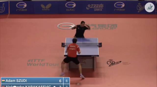 Spanish Open 2014 Highlights:Aleksandar Karakasevic Vs Adam Szudi (Q. Group) 卓球動画
