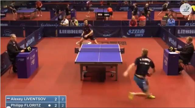 German Open 2014 Highlights: Liventsov Alexey vs Floritz Philipp (Q. Group) 卓球動画