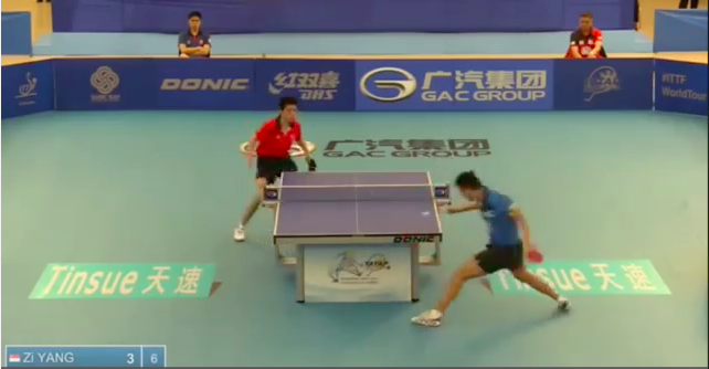 Philippine Open 2014 Highlights: Yang Zi Vs Ho Kwan Kit (1/2 Final) 卓球動画