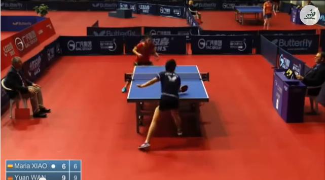 Croatia Open 2014 Highlights: Wan Yuan Vs Maria Xiao (U21 1/4 Finals) 卓球動画