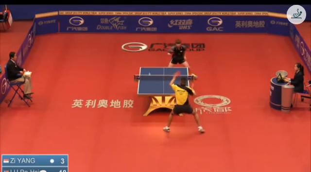 China Open 2014 Highlights: Yang Zi Vs Lu Po Hsien (Q. Group) 卓球動画